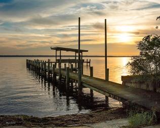 photo of Sunrise on Crescent Lake FL