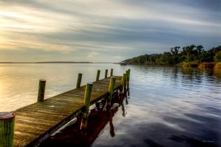 photo of dock on Crescent lake, Crescent City FL