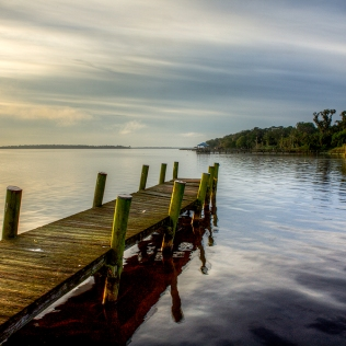 photo of dock on Crescent lake, Crescent City FL