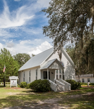 photo of Florahome Methodist church, Florahome FL