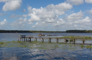 photo of St Johns River from Gates Ferry Landing