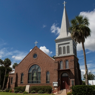 photo of St Monica Catholic Church, Palatka, FL