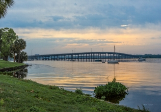 Photo of Palatka Bridge from West shore